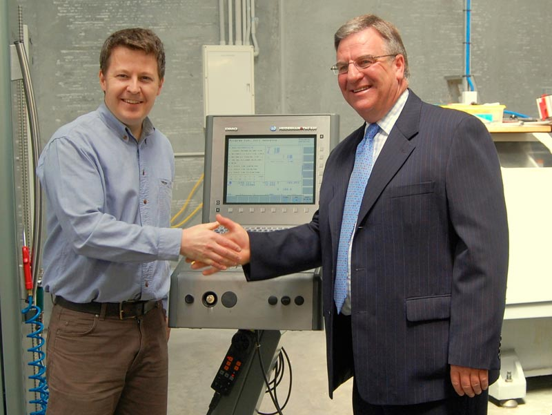 Currawong Launches New Factory including Five Axis Milling Machine